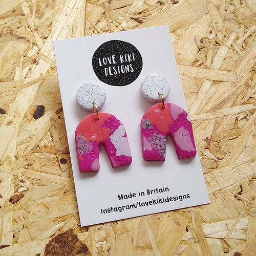 Arch Earrings No.1