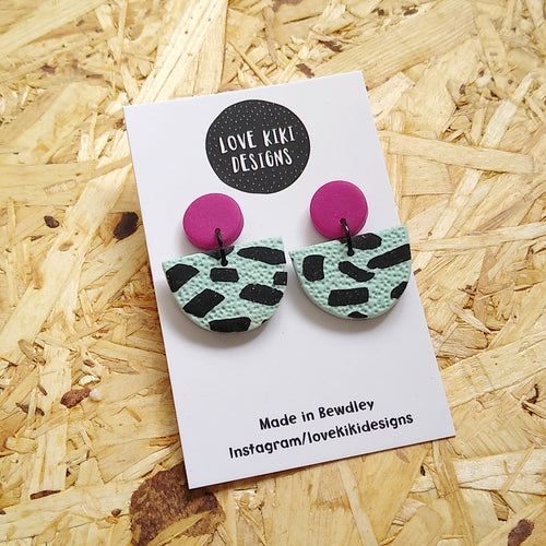 Half Moon Earrings No.2