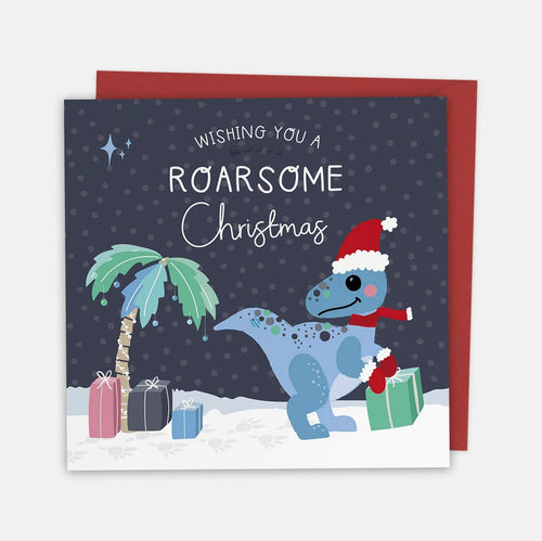 Have a Roarsome Christmas Card