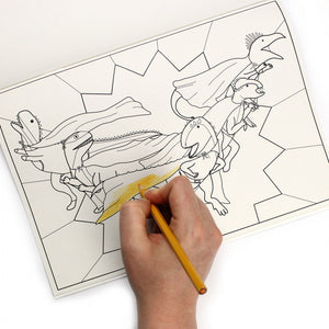 Dinosaurs Doing Stuff Colouring Book