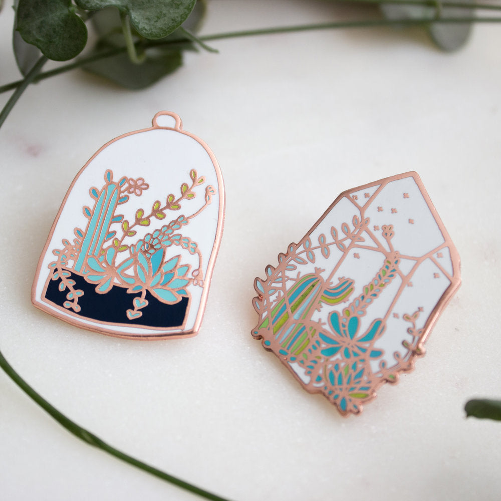 Terrarium Belljar Pin Set