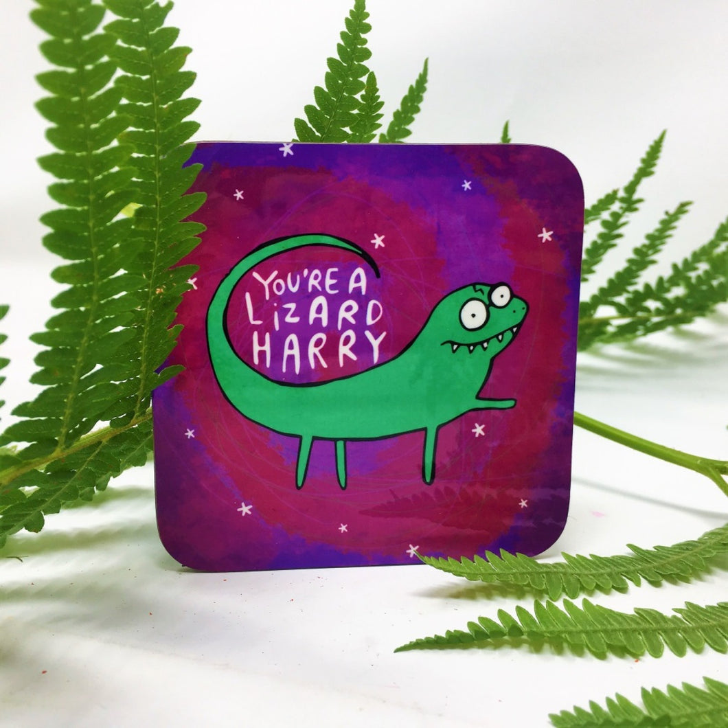 Lizard Harry Coaster