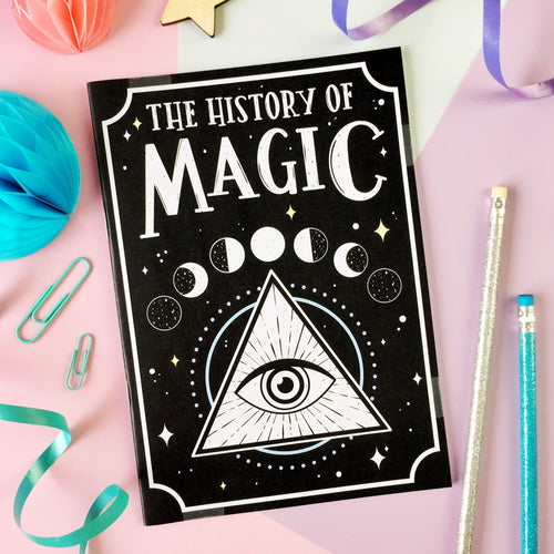History of Magic Notebook