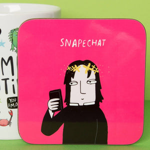 Snape Chat Coaster