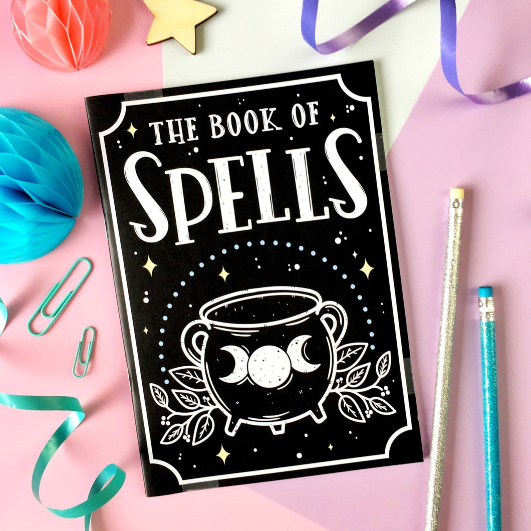 The Book of Spells Notebook
