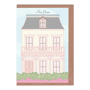 Victorian New Home Card