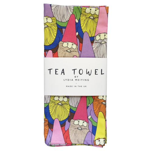 Mister Gnome Tea Towel