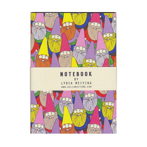 Mister Gnome Mini Notebook