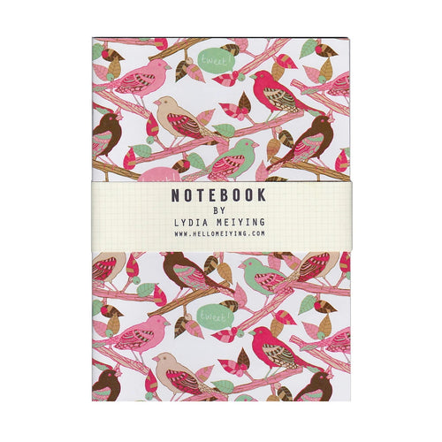 Tweet Tweet Mini Notebook