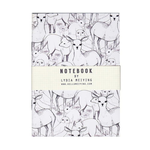 Woodland Mini Notebook