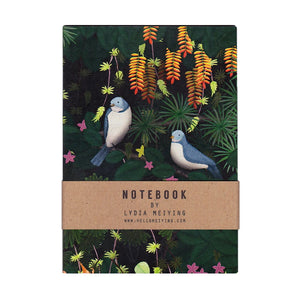 Jungle Birds Mini Notebook