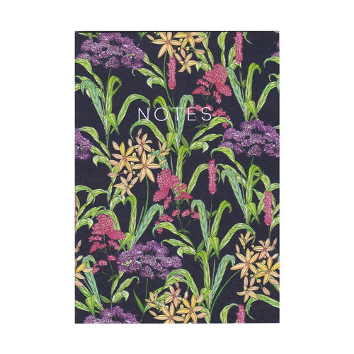 Wild Flowers Mini Notebook