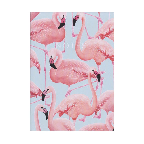 Flamingos Mini Notebook