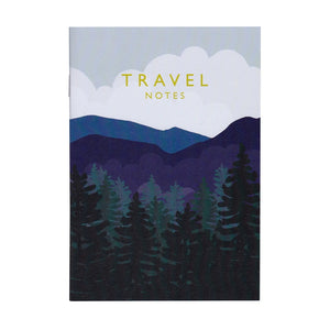 Travel Notes Mini Notebook