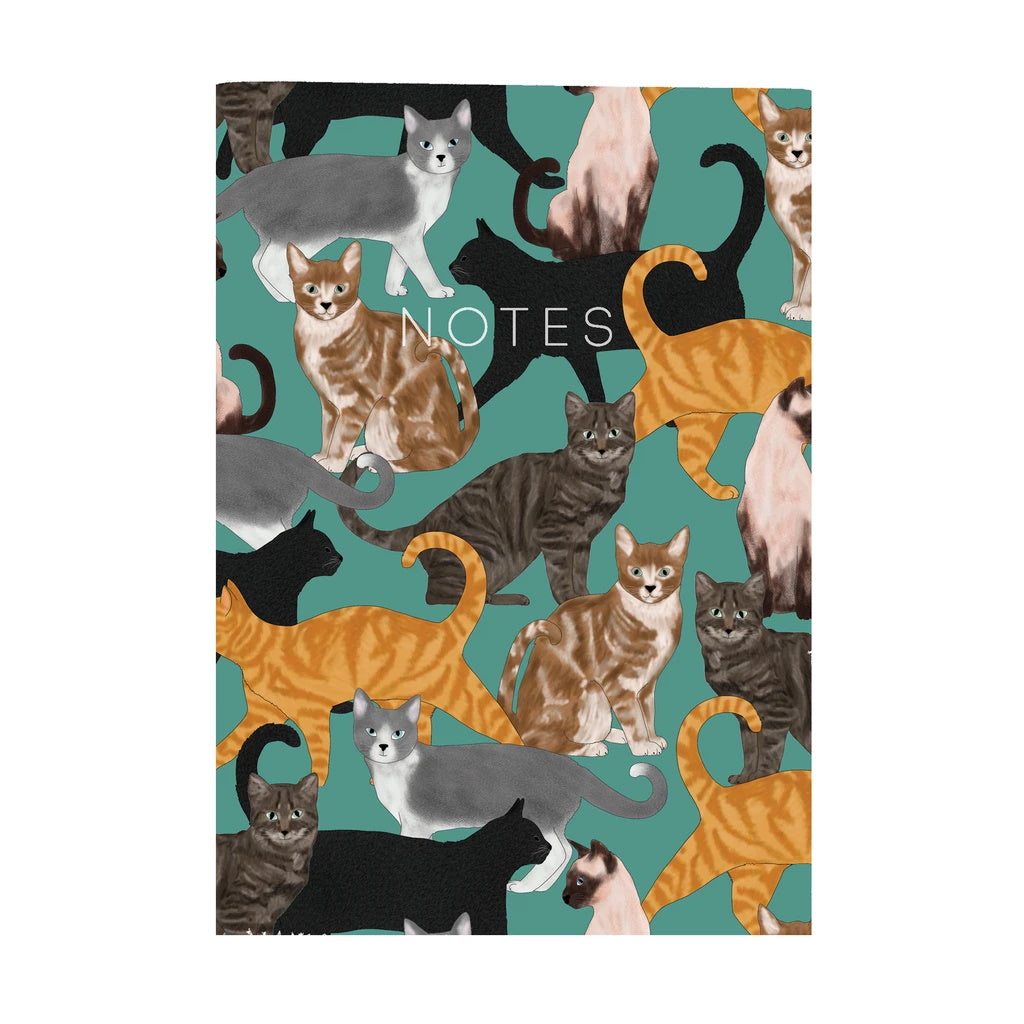 Cats Mini Notebook
