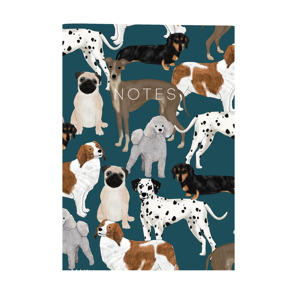 Dogs Mini Notebook