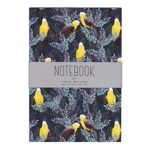 Galah Yellow Notebook