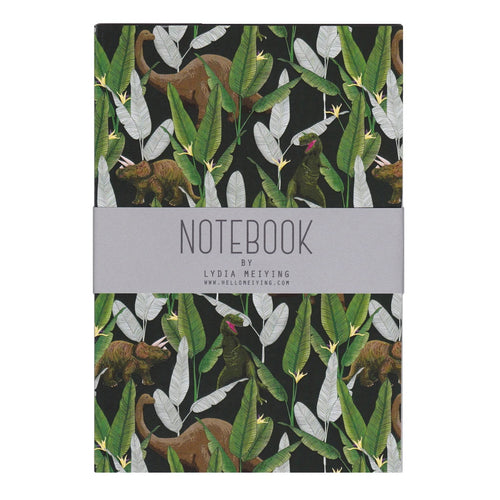 Dinosaur Jungle Notebook