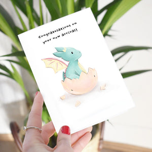 New Arrival Greetings Card
