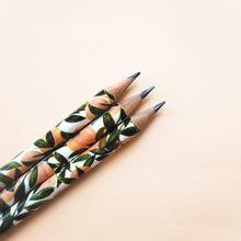 Peach Pattern Pencil Set