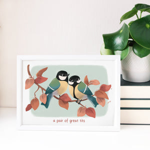 A Pair of Tits Print