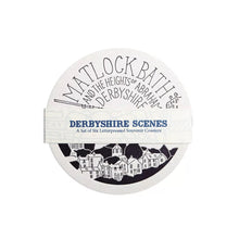 Derbyshire Letterpress Coaster Set