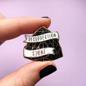 Resurrection Stone  Enamel Pin