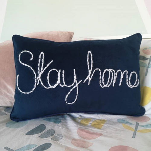 Stay Home Cushion