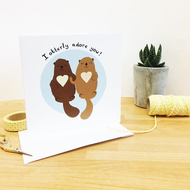 I Otterly Adore You Card