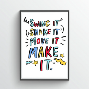 Spice Up Your Life Giclee Print