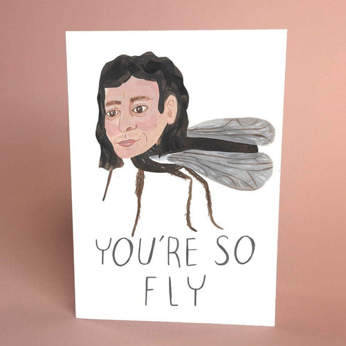 You're so Fly Goldblum Card