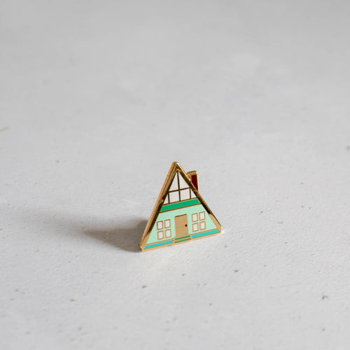 A-Frame House Pin