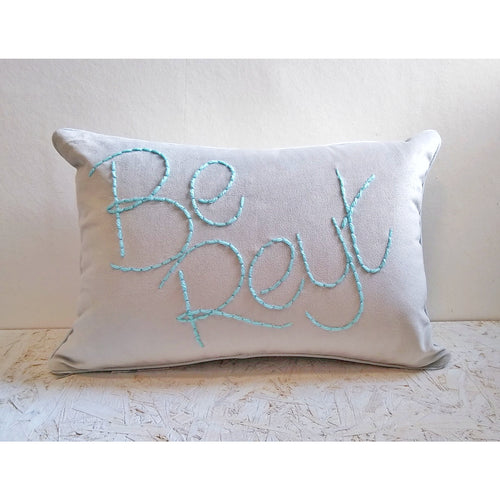 Be Reyt Embroidered Cushion