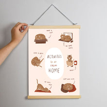 Charity Print - Activities to do at home Print