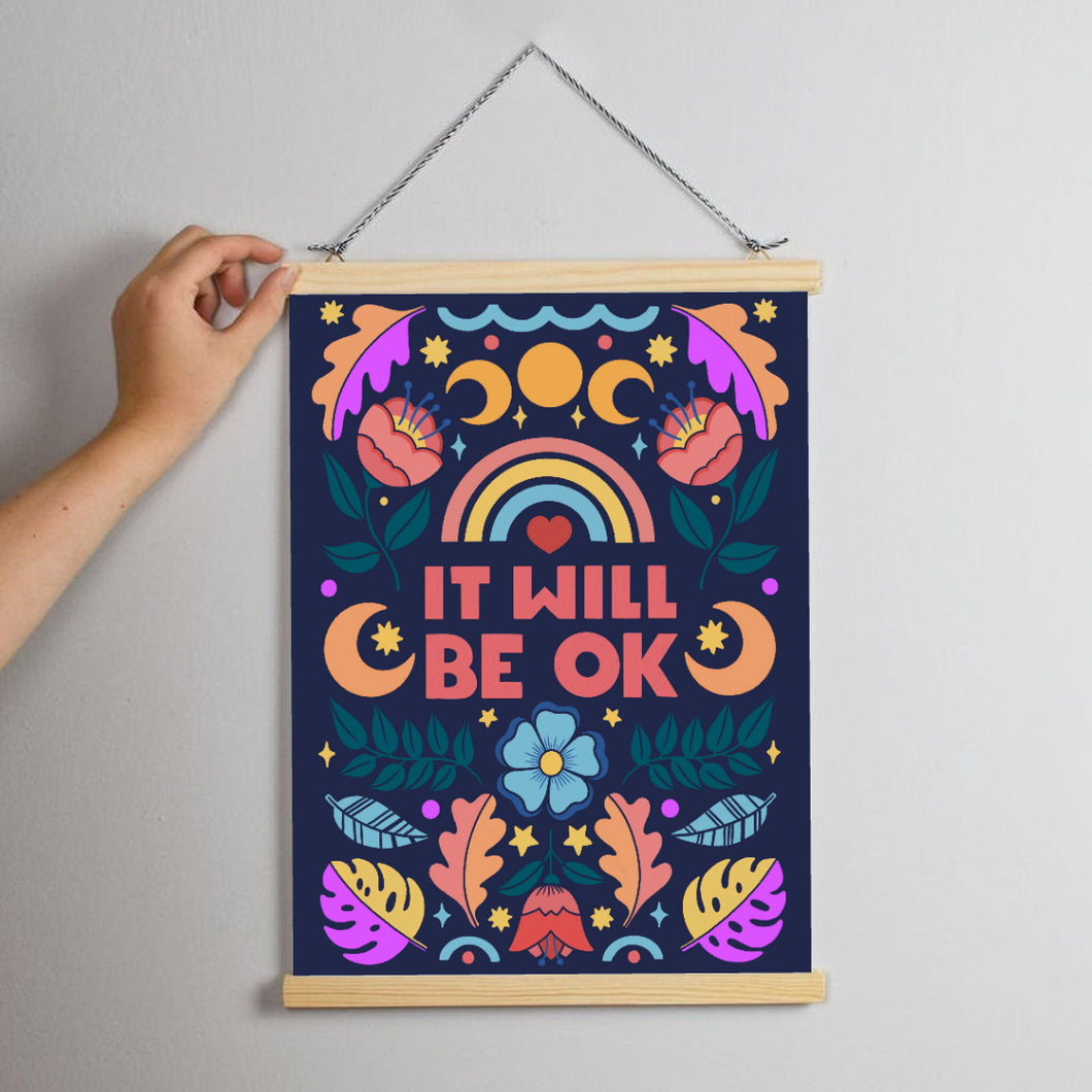 Charity Print - It Will Be OK Print