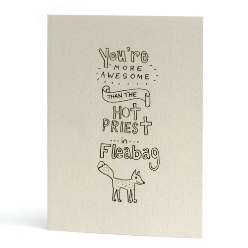 Fleabag Awesome Card