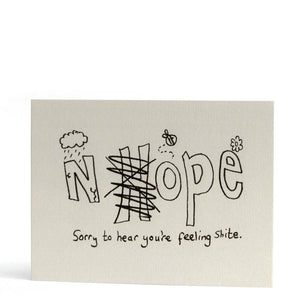 Nhope Greeting Card