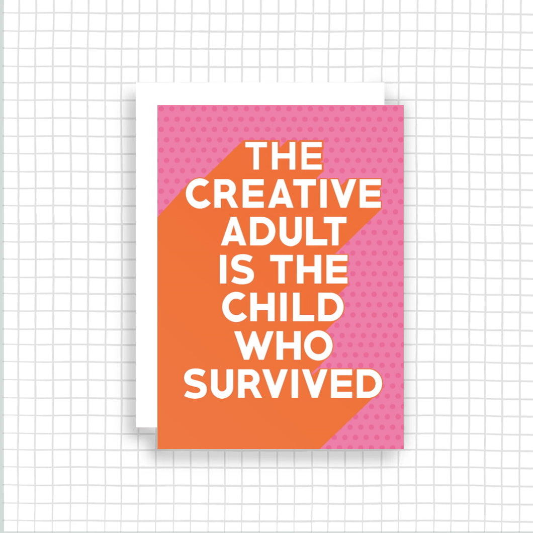 Creative Adult Card