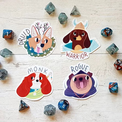 Dungeons & Doggos Sticker Pack