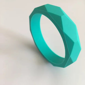 Turquoise Teething Bangle