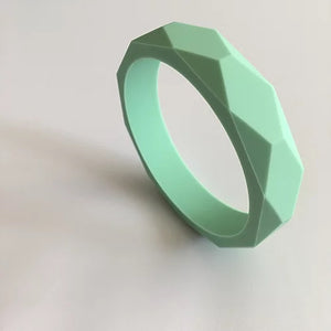 Mint Green Teething Bangle