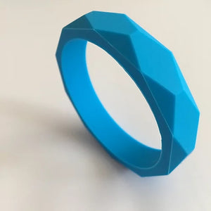 Sky Blue Teething Bangle