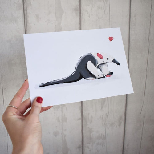 Anteater A5 print