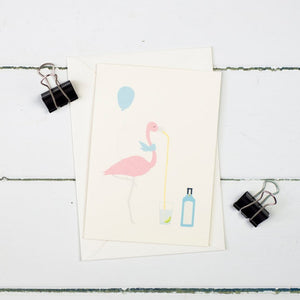 Flamingo G&T Card