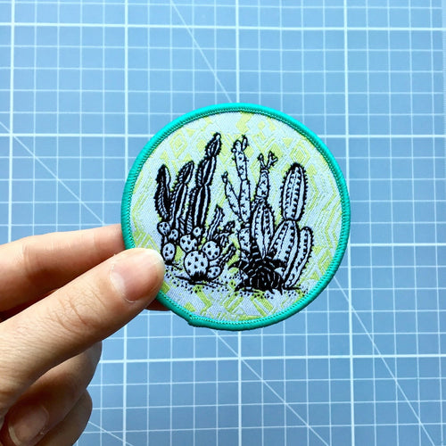 Woven Cactus Patch