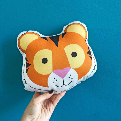 Tiger Plush Scatter Cushion
