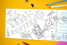 Spooky Movie Colouring book