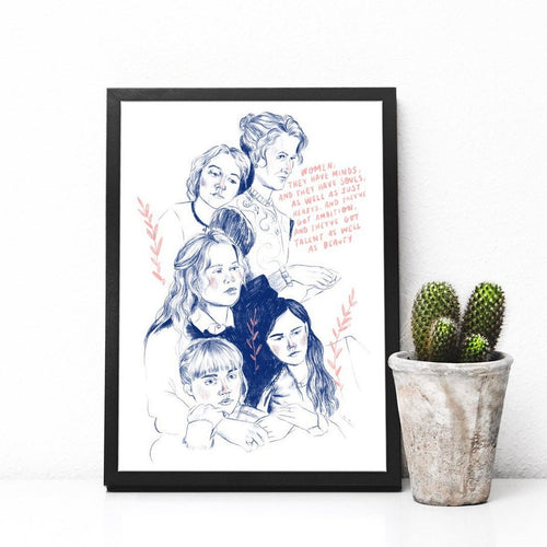 Little Women A4 Print