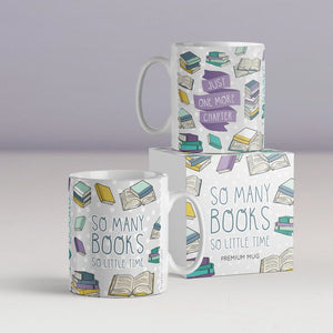 So Many Books So Little Time Mug
