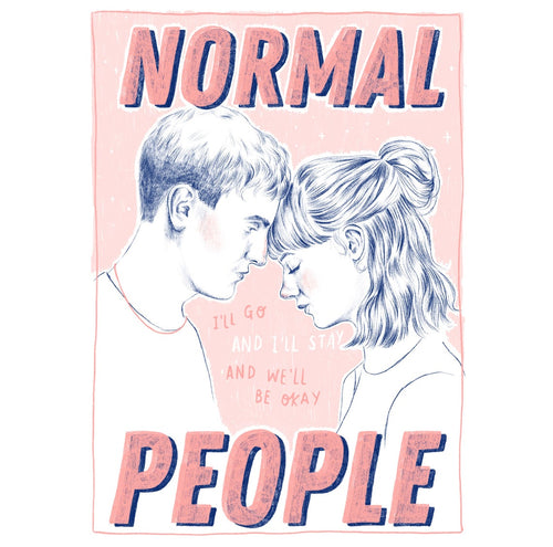 Normal People A4 art print